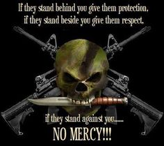 Molon Labe - No mercy. Makes sense good words to live by. Military Quotes, Military Humor, Military Life, Marine Quotes, Way Of Life, The Life, Molon Labe, Warrior Quotes, Dont Tread On Me
