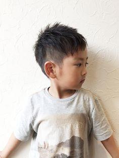 Hair salon Lucia 【ルシア】 ★Lucia★ キッズ☆ ツーブロック アシメショート☆