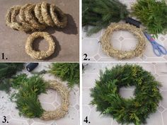 Bildergebnis für prírodni vence na hroby Christmas Craft Projects, Christmas Decorations To Make, Christmas Ornaments, Holly Wreath, Xmas Wreaths, Christmas Feeling, Christmas Time, Holiday, Navidad Natural