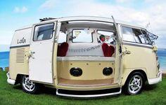 VW wedding campervan Cornwall
