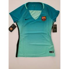 08e53b833 NIKE FC BARCELONA WOMEN S THIRD JERSEY 2016 17 NEW WITH TAGS! Mes Que Un.  Depop