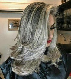 Brown Wigs Lace Hair Blonde Wig Ombre Hair Color Box Braids Near Me Blonde Dye Brown Blond Hair Blonde To Brown Hair Ombre Control Gx Shampoo Grey Hair Wig, Long Gray Hair, Brown Blonde Hair, Lilac Hair, Emo Hair, Blonde Wig, Pastel Hair, Ombre Hair, Balayage Hair