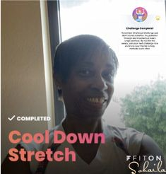 Moves App, Cool Down Stretches, Challenges, Fit, Shape