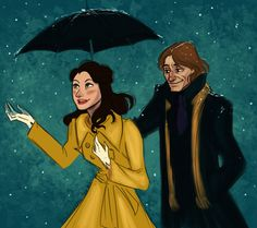 Oh, eff. Now I've got all the Rumbelle feels!  Snow fall is exciting by ~ThatMadGray on deviantART