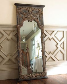 vintage gold mirror AWESOME!