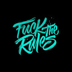 Inspiring Typography & Lettering Work by Lucas Young Types Of Lettering, Lettering Styles, Brush Lettering, Lettering Design, Logo Design, Brush Font, Design Art, Typography Quotes, Typography Letters