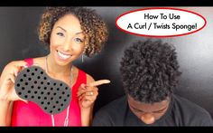 How To Use A Curl Twist Sponge