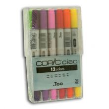 COPIC Ciao Marker Set of 12 Basic Colours