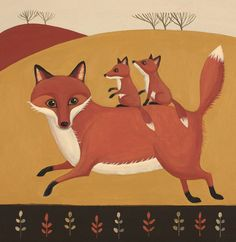 """Foxy Whiskers"" by Catriona Hall"