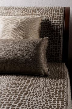 love the texture of fabric for lounge seating.rg Rubelli | Armani/Casa