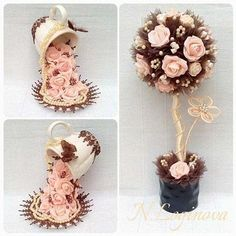 Step by step tutorial DIY wedding decoration, floral globe, spring wedding ideas on a budget Paper Flowers Diy, Flower Crafts, Diy Wedding Decorations, Flower Decorations, Floating Tea Cup, Teacup Crafts, Inspiration Artistique, Diy And Crafts, Arts And Crafts
