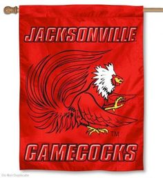 Jacksonville State University House Flag is a vertical house flag which measures 30x40 inches, is made of 2 ply 100% polyester, offers dye sublimated NCAA...
