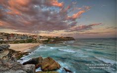 Tamarama Beach in Tamarama, NSW