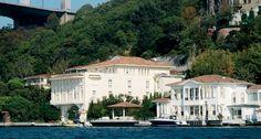 Waterfront houses in Bosphorus Istanbul