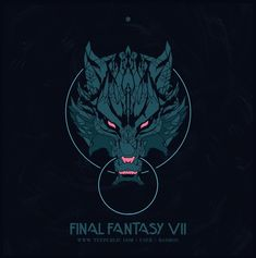 Shop Wolf t-shirts designed by BadBox as well as other merchandise at TeePublic. Final Fantasy Logo, Final Fantasy Vii Remake, Fantasy Wolf, Dark Fantasy, Wolf Emblem, Wolf Kids, Angry Wolf, Wolf Artwork, Video Game T Shirts