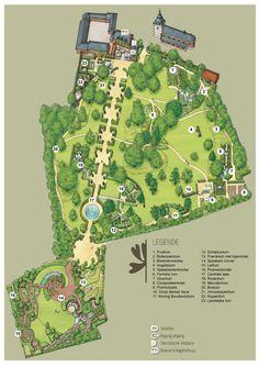 de Tuinen van Hoegaarden - Het park van de stilte