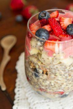 Best Vegetarian Recipes: Easy overnight oats make the perfect breakfast - Hubub