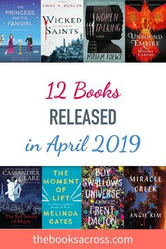 12 Books released in April 2019
