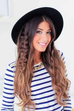 98203a473772e Different style with hats Hair Blog