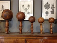 Bilboquets / Guillaume-Duchemin @ ANTIQUES & DECORATIVE