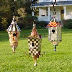MacKenzie-Childs - birdhouses by eddie
