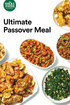 Let us cook Passover dinner, so you can focus on celebrating with family and friends. Reserve your complete meal by April 5 – roast chicken, sides and all. Healthy Pizza Recipes, Easy Healthy Dinners, Whole Food Recipes, Cooking Recipes, Delicious Recipes, Vegetable Recipes, Passover Recipes, Jewish Recipes, Passover Feast