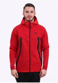 Nike Apparel Tech Bonded Windrunner Jacket - Red