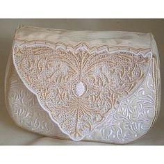 All dressed up and ready to go with your Cameo Clutch Purse …add an exquisite purse to your wardrobe and now you are ready to go Machine Embroidery Patterns, Sewing Patterns Free, Embroidery Monogram, Hand Embroidery, Wedding Clutch, Fabric Beads, Clutch Purse, Design Files, Free Design