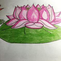 Flor de loto !!! #dibujantenovata #dibujoalápiz #dibujolapiz #dibujoamano #dibujoses #dibujarsinsaberdibujar #dibujandoando #dibujodeldia #dibujar #draw #drawing