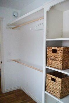 Los closets o armarios son básicos para ordenar tu ropa, zapatos y hasta accesorios; ayudan a que tus prendas se mantengan en buenas condiciones y fac...