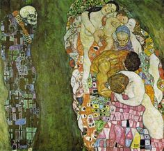 "Gustav Klimt : ""Death and Life,"" 1916."