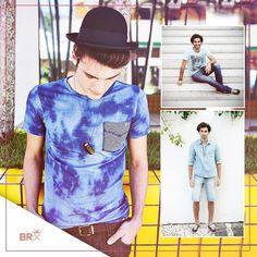 Previsão do tempo: tudo azul na Primavera/Verão dos meninos! #primavera #verao #azul #masculino #moda #estilobrix