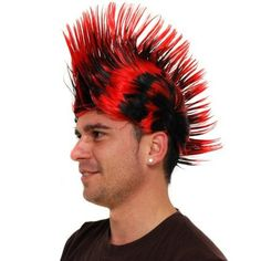 Ive just added Black & Red Punky....Check it out here http://emmazing.uk/products/black-red-punky-wig?utm_campaign=social_autopilot&utm_source=pin&utm_medium=pin#homedecor #decor