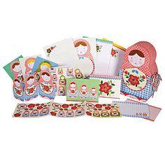 Russian Doll Stationery Box Set