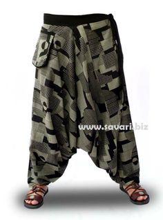 Nuevos pantalones afganos en algodón 100% y estampados étnicos. Por 23,95€ aquí: http://www.savari.biz/pantalones/422-pantalones-cagados.html