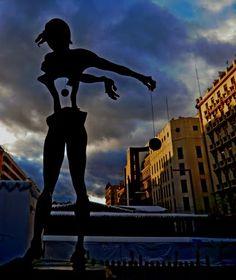 Dolmen de Dalí Plaza de Felìpe II