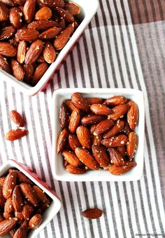Smoked Paprika Almonds: Spanish smoked sweet paprika is the perfect complement to crunchy toasted almonds. Make them for your New Year's table tonight!