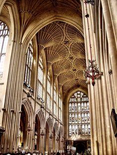 Interior de la Abadia de Bath (Bath - England)
