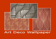 art deco designs | Wall paper
