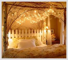 bedroom decorating ideas diy. 10 Relaxing And Romantic Bedroom Decor Ideas For New Couples Add Some String Lights To Create An Extra Whimsical Effect  Diy