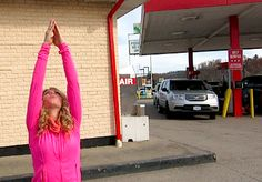 A vlog from Ohio...Yoga at the gas station || Nov 5, 2013 || StephHendel Vlog More over at www.StephHendel.com