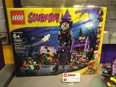 LEGO Scooby-Doo 75904 Mystery Mansion Box Lego Scooby Doo, Scooby Doo Mystery, Day List, Kid Movies, Cool Lego, Lego Sets, Bricks, Legos, Coco