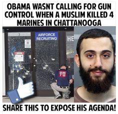 Moslem kills 4 Marines in Chattanooga ~@guntotingkafir