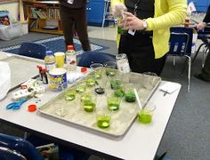 Second Grade Fun: Math and Science Night Mad Science, Weird Science, Teaching Science, Science Activities, Science Experiments, Teaching Ideas, Science Ideas, Upper Elementary Resources, Elementary Science