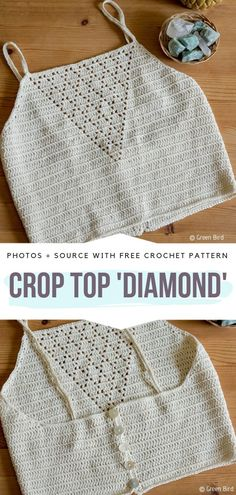 Boho Crop Tops Free Crochet Patterns - Free Crochet Patterns It's time to start thinking about summer. Really, if you want to be prepared for hot season, you better start making yourself some cute crocheted items Crochet Hippie, Pull Crochet, Crochet Bra, Crochet Woman, Crochet Clothes, Crochet Mandala, Crochet Vests, Crochet Shirt, Mandala Pattern