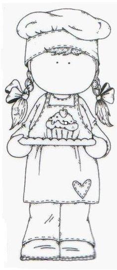 Cupcake Tilda