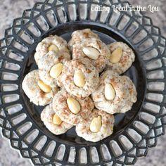 Flourless Almond Cookies ~ healthy, gluten-free