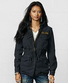 Denim & Supply Ralph Lauren Field Jacket - Jackets & Blazers - Women - Macy's