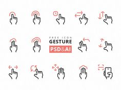 gesture-icons-psd