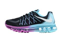 the latest a04e2 e0e68 Barato Nike Air Max 2015 Blanco Azul Del Cielo Violeta Negro Zapatillas De  Running, nice and fashion shoes. for womens